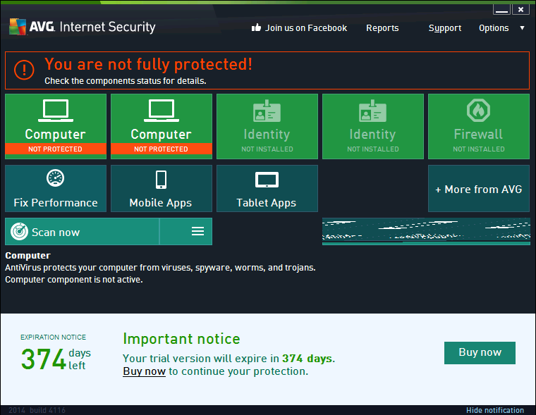 Avg internet security 2015 r d t.