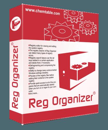 Reg Organizer 8.04