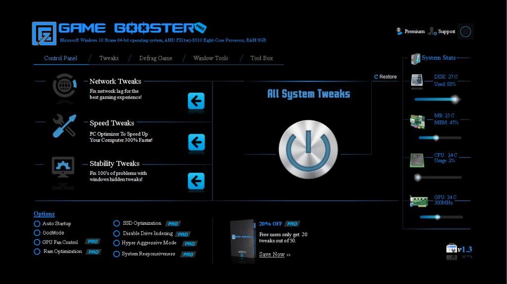 Resultado de imagen de EZ Game Booster PRO