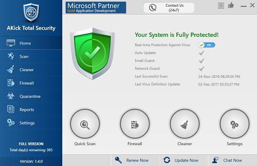 Akick Total Security | Sayro Digital
