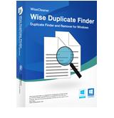 Wise Duplicate Finder boite
