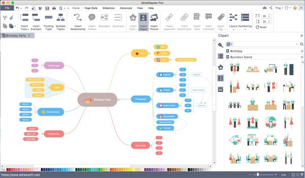 MindMaster Pro gratuit  Mindmaster-mac-brainstorm
